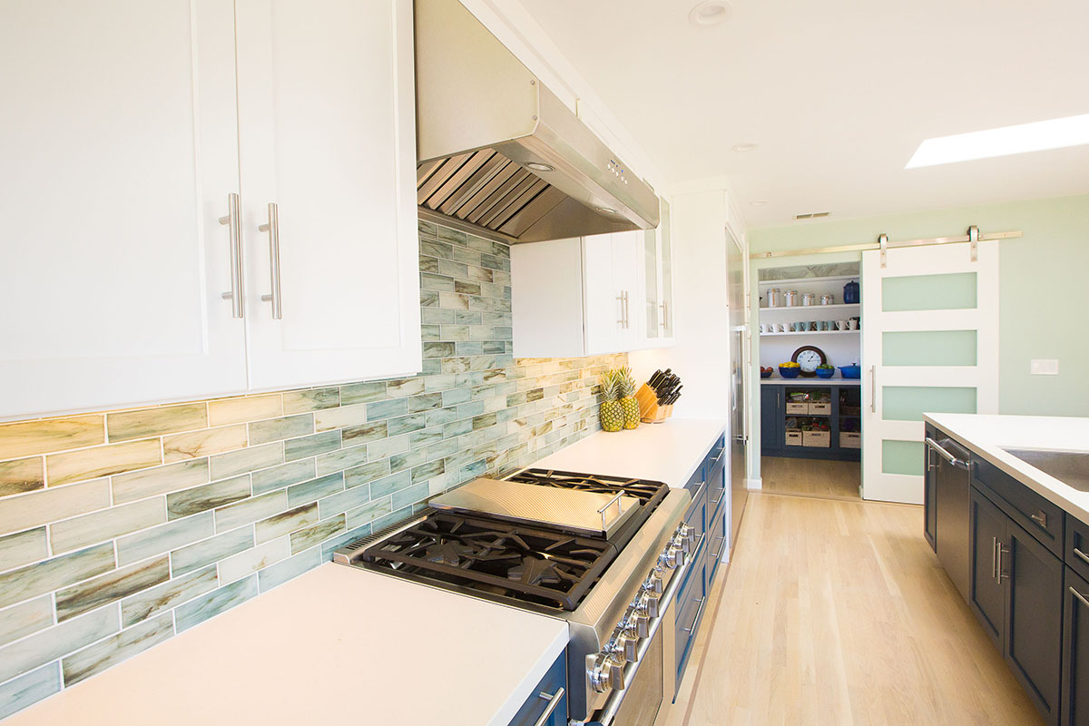 cool-blue-kitchen-tile-backsplash-oven